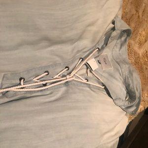 Rails Dresses - Rails rope chambray dress M